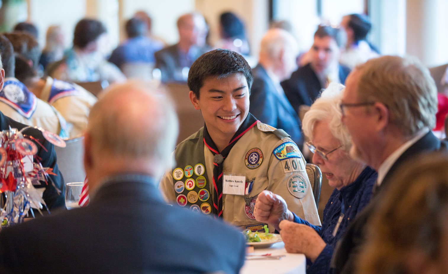 Our Annual Dinner Event Eagle Scouts and Alumni